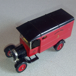 Matchbox models of yesteryear no y-21 Ford TT Van code 3 royal mail GR @sold@